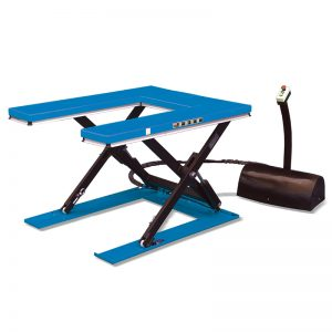 "HU1000 ""U""shape low profile stationary lift table"