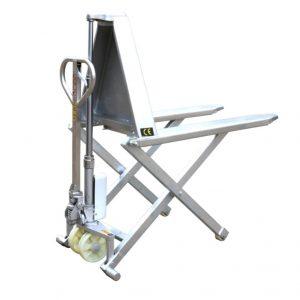 HSG540M рамка от неръждаема стомана с високо вдигане на ножици за палети